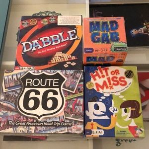 10 and Up Board Game Bundle (4 Games)
